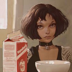 Character Illustrations by Ilya Kuvshinov