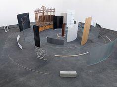 """Alicja Kwade's """"In Circles""""   Art Agenda #installation #fine art #alicja kwade"""