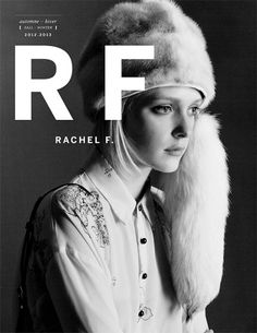 rachelf_AW_2012 - Jimmi Francoeur photographer & director #fashion #typography