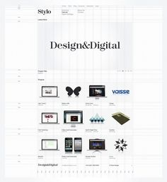Stylo Design - Design & Digital Consultancy - Stylo #grid #guidelines