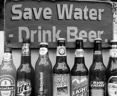 Save Water, Drink Beer #photography #inspiration