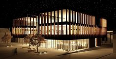 Town Library, Altrincham - Thomas Waddington #architecture #library