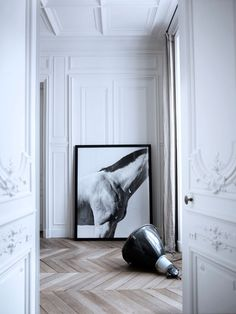 The House Of Patrick Gilles #interior #white