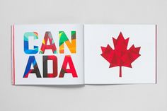 Canadian Olympic Team - A BRIEF HISTORY OF | GREG DURRELL #canada #design #identity