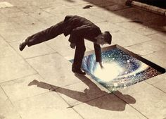 beneath #photo #imagination #manipulation #cosmo #energy #collage