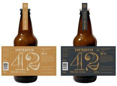 Northbound Brewing Co. #beer #bottle #label #packaging