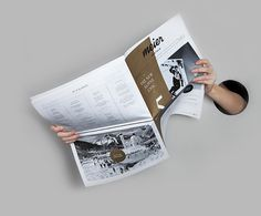 Editorial Newspaper Layout