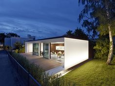 House B10 is a minimalist house located in Stuttgart, Germany, designed by Werner Sobek Group