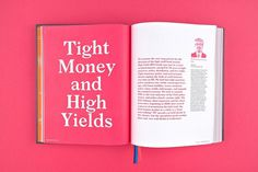 'High Yield, Future Tense' — Pentagram