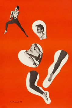 Dancer by Rand, Paul | Vintage Posters at International Poster Gallery #poster