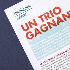 KMAG #print #design #magazine #editorial #edition #sport #running #health #run #course #kmag #jogging #pied