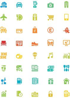 Multiplus icons on Behance