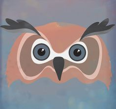 luismsf #owl #night #illustration #colors #forest #animal