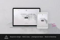 Triada — Coming Soon Template http://themeforest.net/item/triada-creative-coming-soon-template/10438523?ref=theme_bridge Triada is a creat