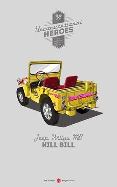Where is Bill. #unconventionalheroes #movie #willys #jeep #bill #mb #gerald #kill #vintage #poster #bear #car