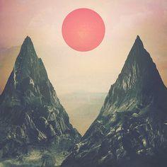 Arbor EP #album #sun #sky #art #mountains