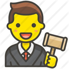 See more icon inspiration related to law, professions and jobs, profession, smileys, judge, occupation, job, justice, avatar, man and people on Flaticon.