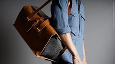 Hard Graft Jet Setter Travel Bag #carry #accessories #felt #leather #bags #fashion #personal