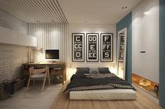 Cozy studio – 40 square meters transformed by Curly Design