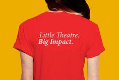 Wigan Little Theatre by Alphabet #tshirt #print