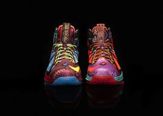 NIKE, Inc. Nike Marks LeBron James's Most Valuable Player Title with LEBRON X MVP Shoe #shoes #nike #lebron james