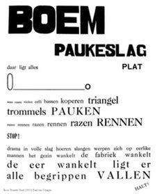 Paul van Ostaijen – Bezette Stad, 1921