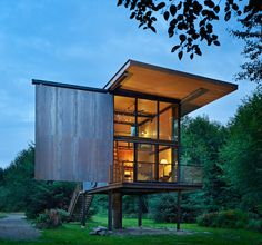 Sol Duc Cabin #cabin #tiny #architecture #house