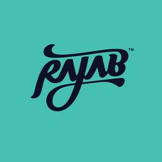 Rajab by abichondro #logo #type #custom #typography
