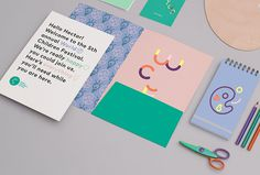 World Children's Festival by Eric Amaral Rohter #stationary #illustration #print #colourful