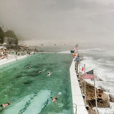 "CJWHO ™ (""Bondi Haze"" – Bondi Beach Sydney Photography by...) #bondi #ocean #sydney #design #landscape #photography #art #australia #beach"