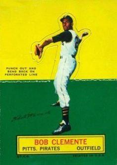 BOB CLEMENTE BASEBALL CARD TOPPS