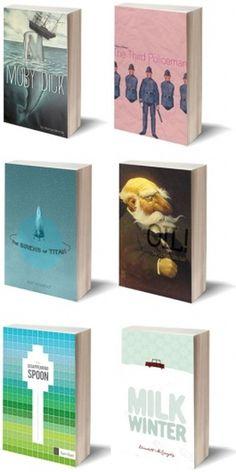 design work life » Matt Roeser Book Covers