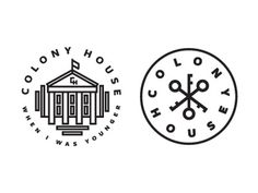 Colony_house #logo #branding