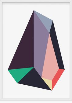 tumblr_m73meoQsXc1qkun9io1_500.jpg (500×715) #illustration #art #poster #geometry