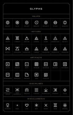 FFFFOUND! | Eight Hour Day » Manifest #glyphs #symbols