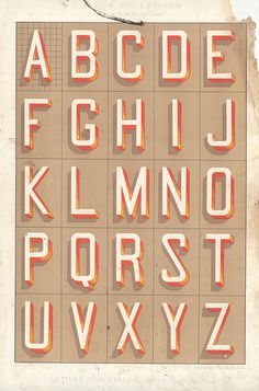photo #vintage #type #alphabet #specimen