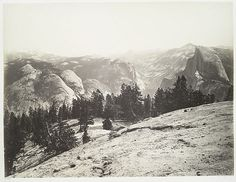 The Domes from the Sentinel Dome, Yosemite. | Flickr - Photo Sharing!