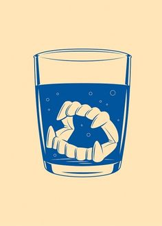Mahala 3 Spot Illustrations on the Behance Network #teeth #vector #kronk