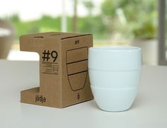 caneca parede dupla :: Jödja #product #design #mug #package