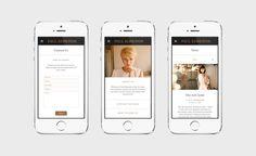 Paul Edmonds / Matthew Hancock #handheld #design #graphic #website #iphone #hair #digital #mobile #fashion #layout #web #style #typography
