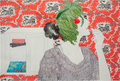 boxes of ephemera - New York illustrator, Hope Gangloff tackles the... #illustration