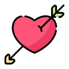 See more icon inspiration related to cupid, love and romance, valentines day, lovely, romanticism, romantic, hearts, heart, love and arrow on Flaticon.