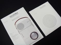 » Less and More / The Design Ethos of Dieter Rams Flickrgraphics #layout #design #graphic
