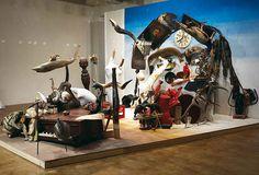 Assemblage installations by Bernard Pras