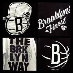 Jay-Z Made This: Brooklyn Nets Officially Unveil Brooklyn Nets Logo: Gothamist #logo #identity #sport #basketball