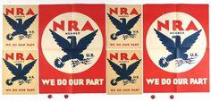 NRA WPA Poster #branding #eagle #wpa #poster #nra