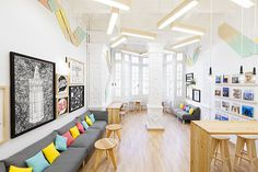 2Day Languages by +Quespacio #interior design #office #color