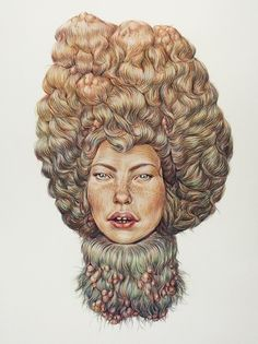 Glamour and Abscess (2010) | Winnie Truong #illustration #art