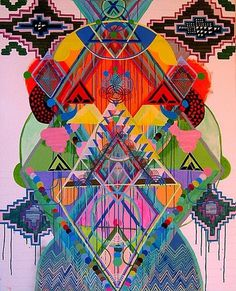 FFFFOUND! | moodz 09 on Flickr - Photo Sharing! #illustration #color #geometric #triangles