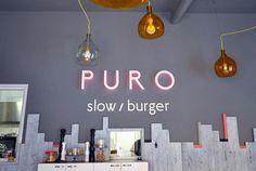 Puro #sign #puro #restaurant
